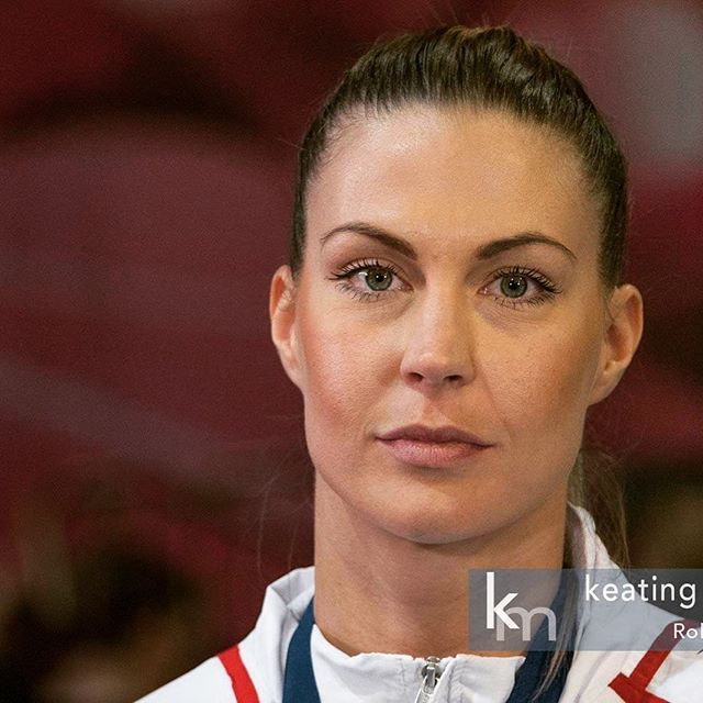 Edina Dobi photographed as she waits to be interviewed by Peter Varga following the Hungary Women's Volleyball team's win against Australia to claim gold in the FIVB World Grand Prix Group 3 final, played in Canberra, Australia on 23 July 2017. Hungary won the final 3-0 and were undefeated over 8 matches. @edirae14 #cbr #fivb #worldgrandprix #volleyball #sport #volleyballgirls #magyarlanyok #champions #wgp2017  #undefeated #canberra #australia #keatingmedia