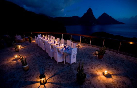 """Details on Jade Mount Resort, St Lucia's """"Elope to Paradise"""" wedding package"""