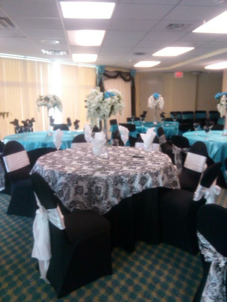 Black And White Damask Overlay With A Black Base