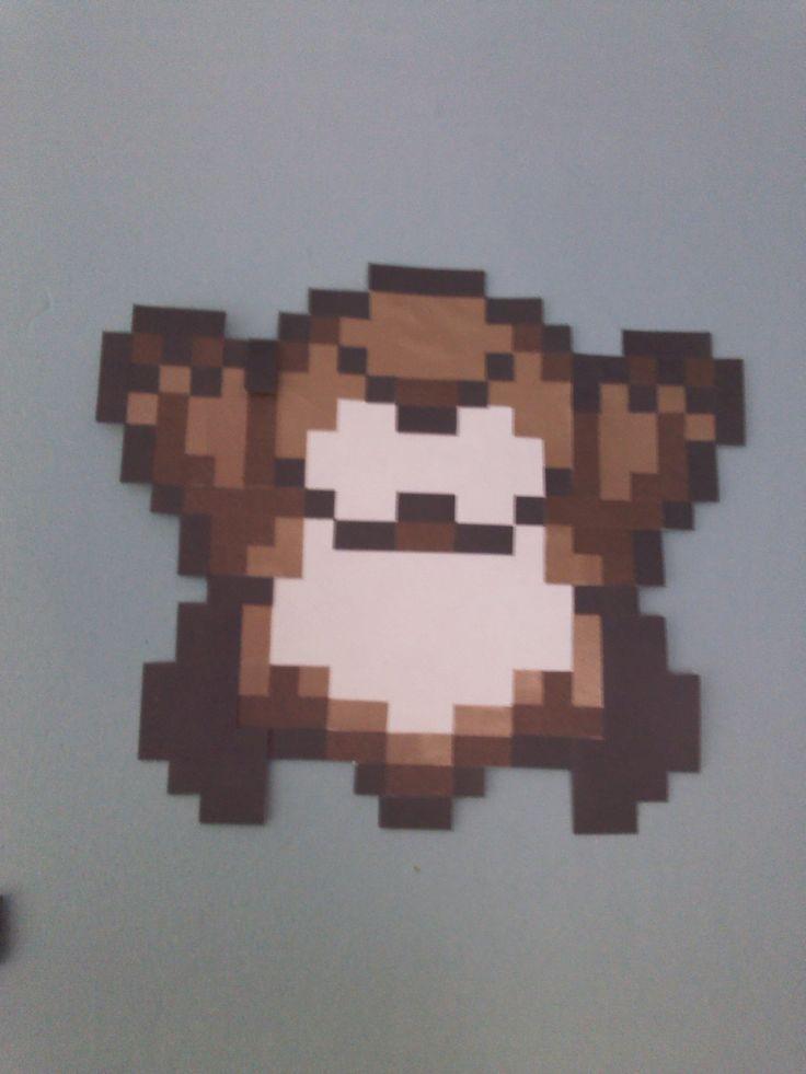 Personaje Mole de Mario Bros.