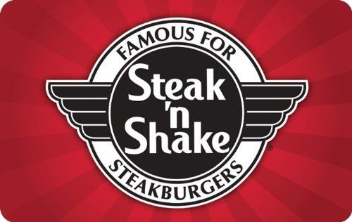 #Steak 'N' #Shake #Gift #Card The perfect #gift is easy and convenient to give. After 75 years, we are continuing #Steak n Shake's tradition of serving the country's best, freshest, and tastiest burgers and shakes. Redeem at 500 locations throughout the United States https://food.boutiquecloset.com/product/steak-n-shake-gift-card/