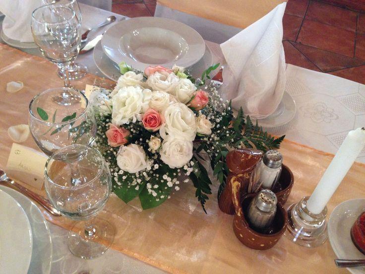 asztaldísz esküvőre