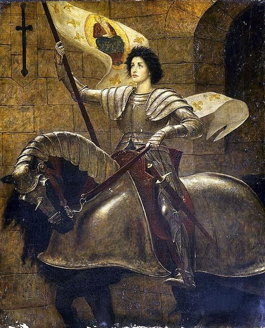 "Sir William Blake Richmond (British, 1842 - 1921), ""Joan of Arc"" 