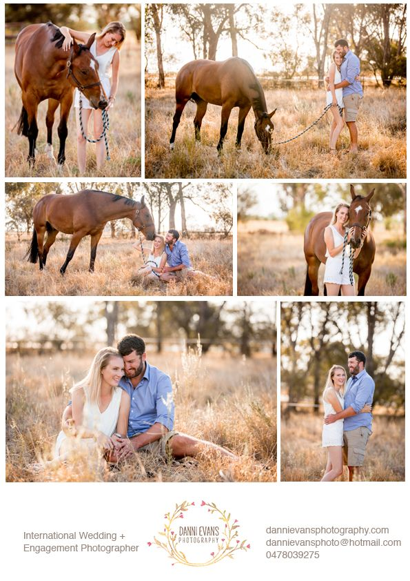 Roland and Crystal are two peas in a pod. We had such a great afternoon for their engagement shoot on their country property with their horse who gave them kisses and loved the camera. With a beautiful sunset haze light and a perfect couple, its got to be one of my favourite engagement sessions to date! Pony, foal, horses, horse shoot
