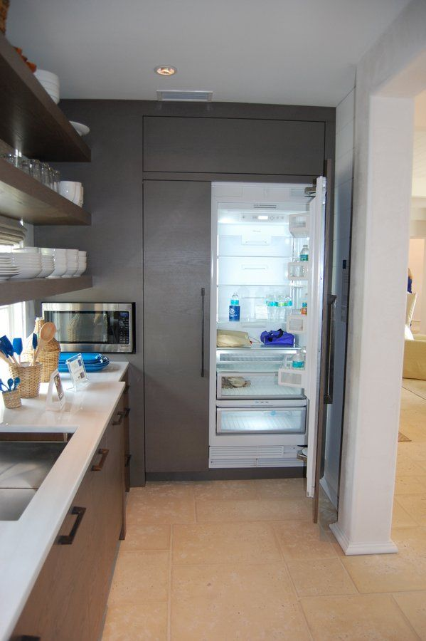 """Coastal Living Ultimate Beach House - the """"scullery"""" was hidden away from the rest of the kitchen to keep the main kitchen area clean and free from messes."""