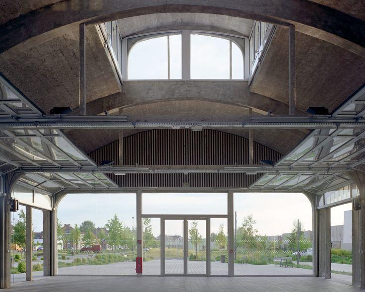 bureau faceB, BplusB Architectures, Maxime Delvaux · Bruay-la-Buissière