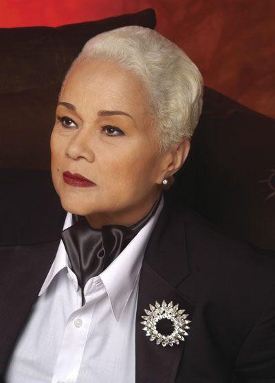 Etta James, later in life.