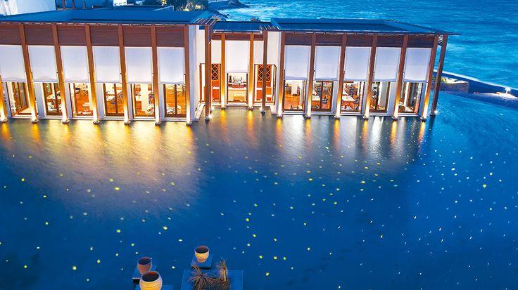 Fine Dining | Amirandes Luxury Hotel Restaurants in Crete