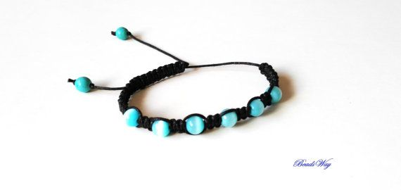 Bracelet of beads/Shambala/Bracelet hand made/ di BeadsWay su Etsy