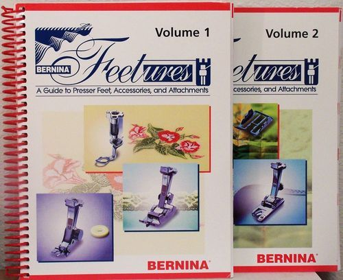 Bernina Feetures: A Guide to Presser Feet, Accessories, and Attachments (2 Volumes): Jo Leichte, Susan Beck: Amazon.com: Books