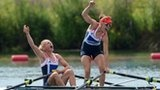 Sophie Hosking & Katherine Copeland - Women's Lightweight Double Sculls Rowing Gold