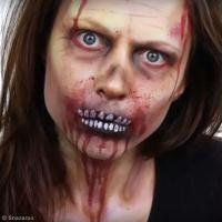 Tuto maquillage Zombie Halloween
