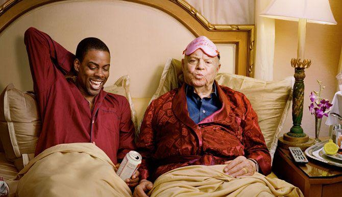 Смешные фотографии знаменитостей. Крис Рок.