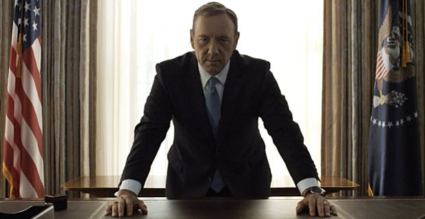 Finished 'House of Cards'. My thoughts at the link. First season with a single teacher union lobbyist, able to launch a national strike by ALL teachers unions, was annoying/hilarious. And that a teacher union rally could be deflated by free BBQ food? I know many vegan educators who would probably riot at that move.
