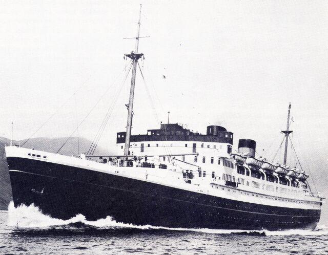 "Union Steam Ship Co - TSS Awatea - ""The fastest ship in the Antipodes"""