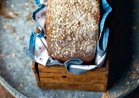 Glutenfritt grovt bröd | recept.nu