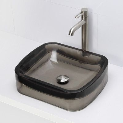 Bathroom Sinks Reviews best 25+ rectangular vessel sink ideas on pinterest | small vessel