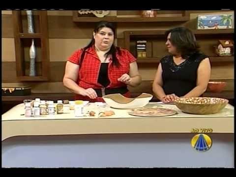 Sabor de Vida | Mosaico com Casca de Ovos 24.10.2011 - YouTube
