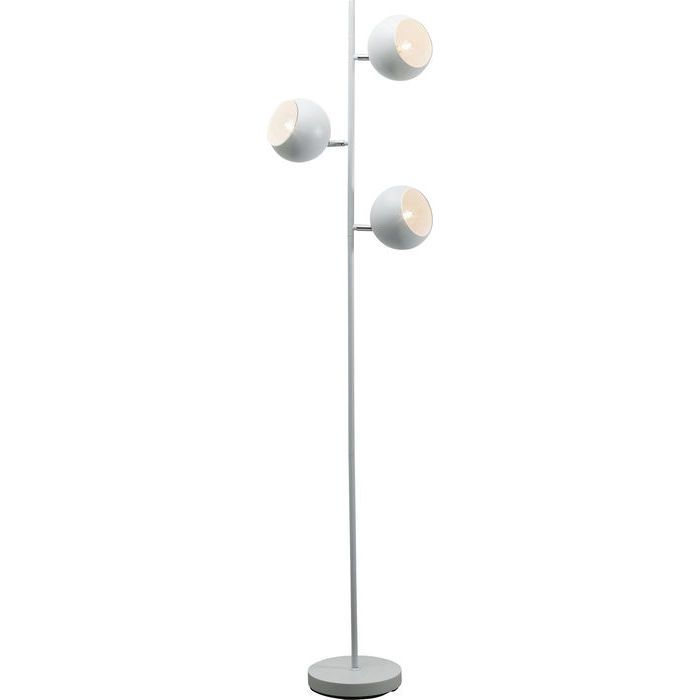 Floor Lamp Carla White Tre - KARE Design