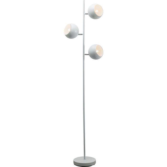 Floor Lamp Carla White Tre - KARE Design
