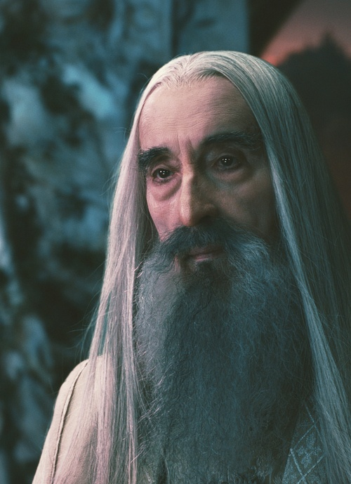 Christopher Lee ~ Saruman ~ The Lord of the Rings