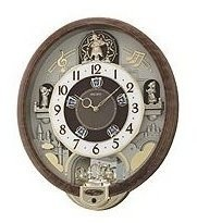 This Seiko Melodies In Motion Nine Swarovski Crystal Clock