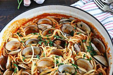 Recipes Puglia | recipe list ingredients and preparation | Spaghetti with clams sauce
