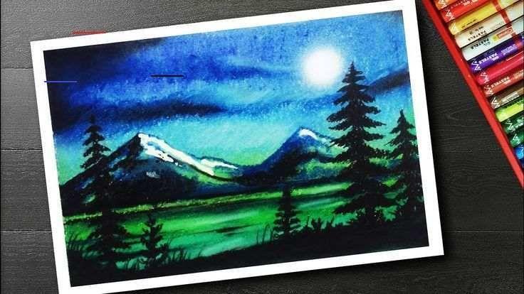 Oil Pastel Art For Beginners For Kids Oil Pastel Art Beginners Pastel Oilpastels In 2020 Oil Pastel Art Oil Pastel Landscape Oil Pastel