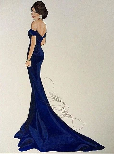 @karenorrillustration  Be Inspirational❥ Mz. Manerz: Being well dressed is a beautiful form of confidence, happiness & politeness