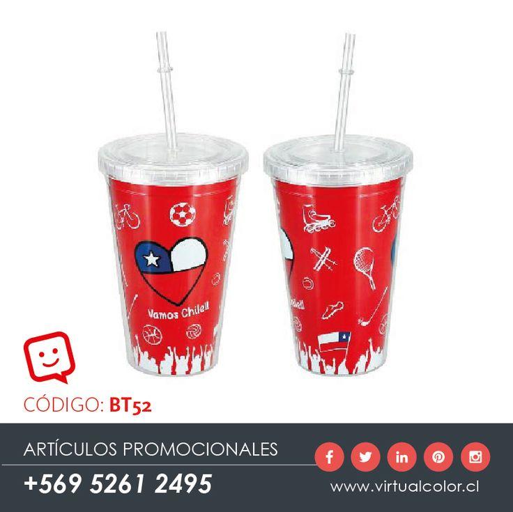 Artículos Promocionales - Productos Publicitarios - Mug Vamos Chile 455cc