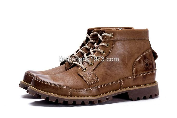 2017 New Timberland Men's Earthkeepers Original Leather Chukka Boot Brown $ 92.00