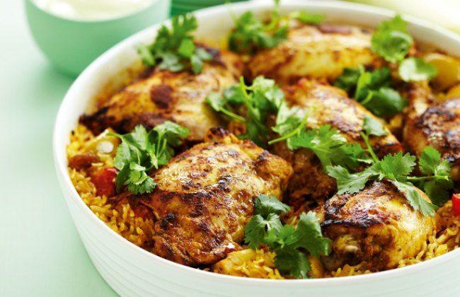 receta de pollo con arroz Thermomix