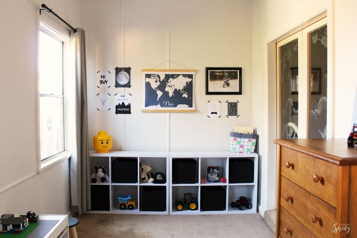 Create a gallery wall on a budget  May and Belle world map canvas