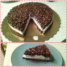Cheesecake con riso soffiato mascarpone e nutella Dulcisss in forno by Leyla