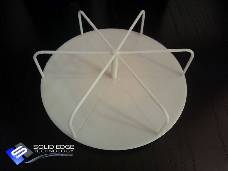 Merry-go-round. 3D CAD model done by Solid Edge Technology. 3D Printed by Solid Edge Technology.