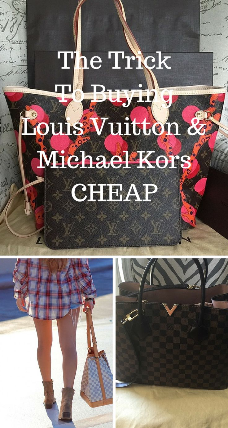 LV & Michael Kors at a discount! Shop your favorite brands at up to 70% off now. Click image to install the FREE Poshmark app now. As seen on Good Morning America & The New York Times.
