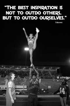 Motivating Cheerleading Posters