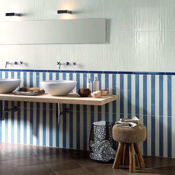 A klasszikusan elegáns fürdőszoba: kék és fehér - Kreatív - Tanácsadó - lakaskultura.hu