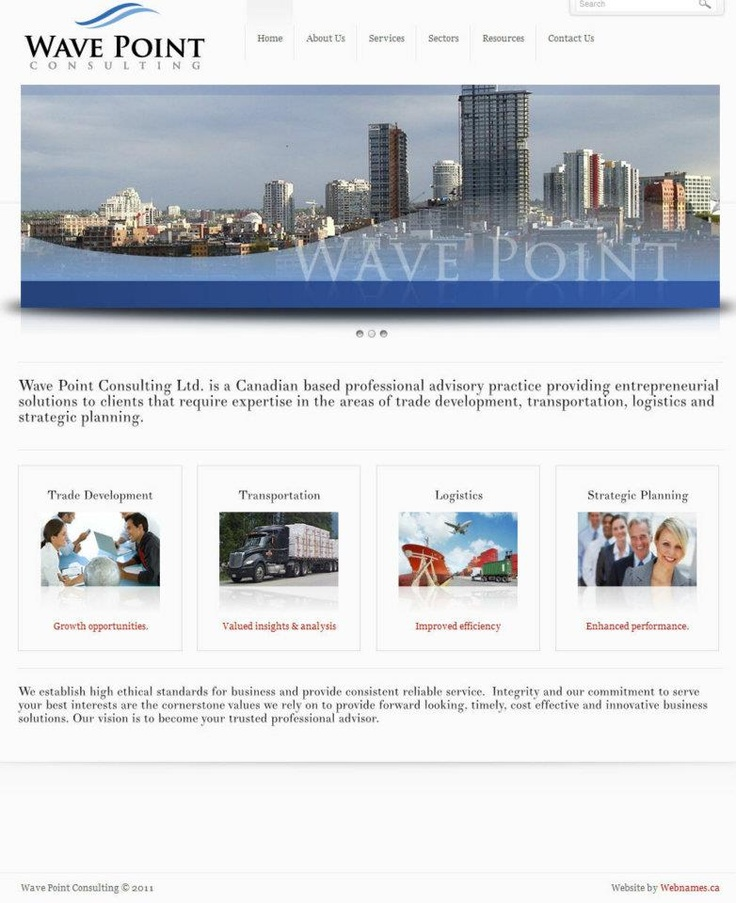 See the full website at www.wavepointconsulting.ca