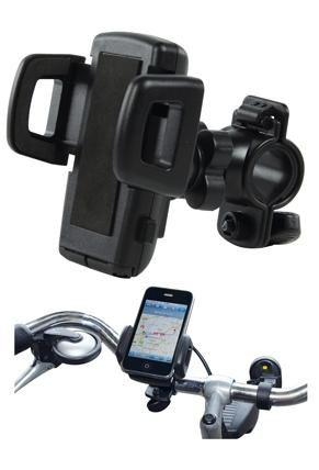 Mindenféle méretű, nagyságú formájú PDA-hoz, PNA-hoz, GPS navigációs rendszerhez, illetve mobil telefon készülékhez használható, stabilan rögzít. A kormányra szerelhető, az ehhez szükséges rögzítő bilincs része a készletnek. Az alsó lábak ki-be hajthatóak.