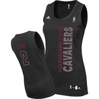 adidas Cleveland Cavaliers Kyrie Irving Women's Static Fashion Swingman Jersey