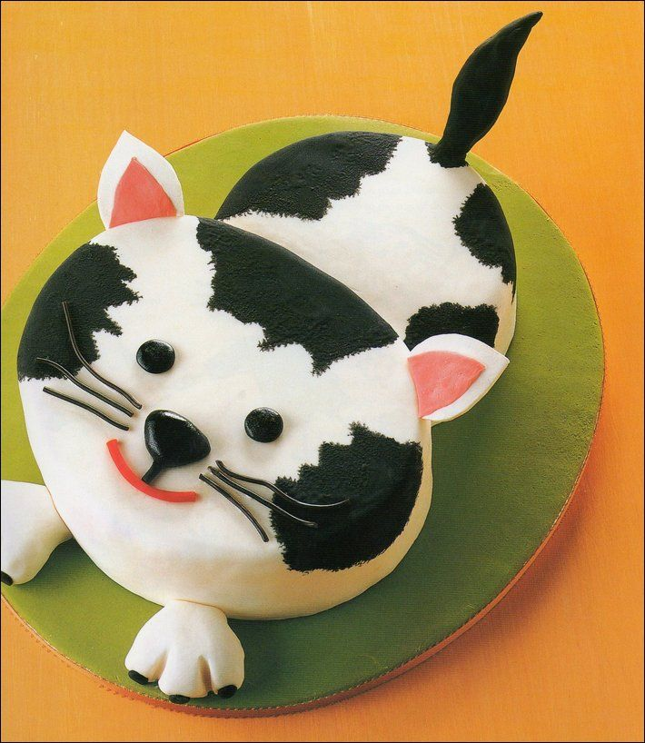 335 best Cat Cakes images on Pinterest Cat cakes Baking center