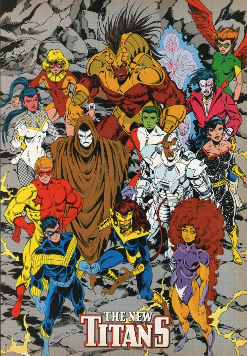 The New Titans - Tom Grummett