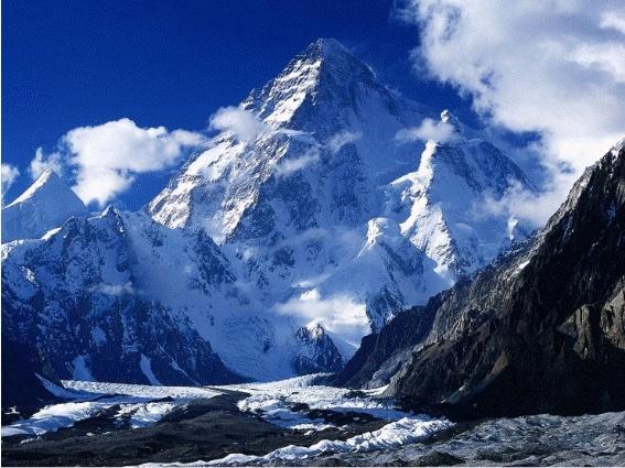 보기만 해도 웅장한 가장 높은 산이 있다는 히말라야 산맥이다.  이는 두 판의 충돌로 인해 높은 압력이 발생하여 땅이 밀려 올라가 생기는 습곡산맥이다.