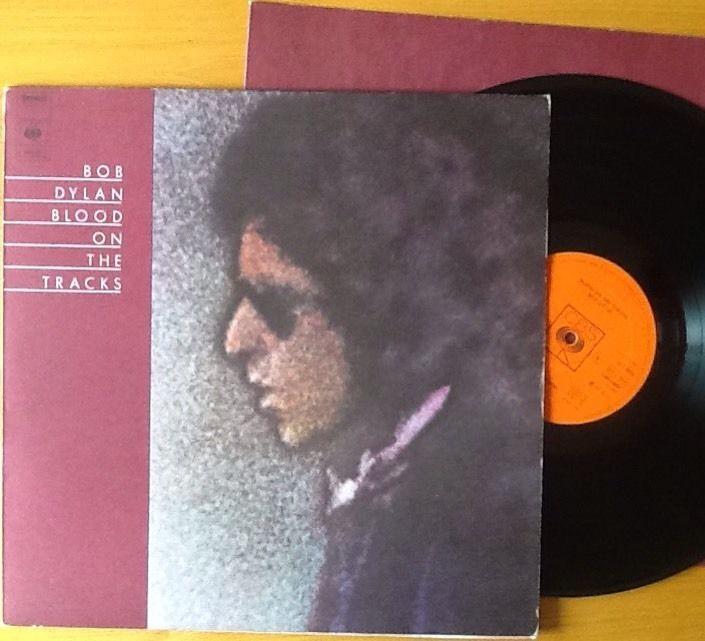 BOB DYLAN blood on the tracks 69097 dutch cbs Orange Label Textured Slv 1975 LP in Music, Records, Albums/ LPs | eBay