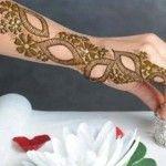 Full Hand Bazo Arabic Mehndi Designs 2014 for Girls