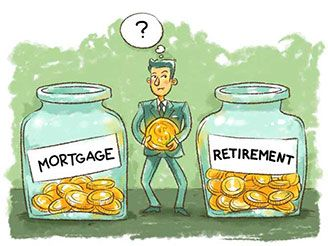 Pay The Mortgage Or Save For Retirement?