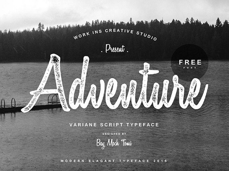Variane Free Script Typeface on Behance