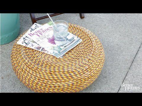 Top 25+ best Rope tire ottoman ideas on Pinterest   Cheap ...