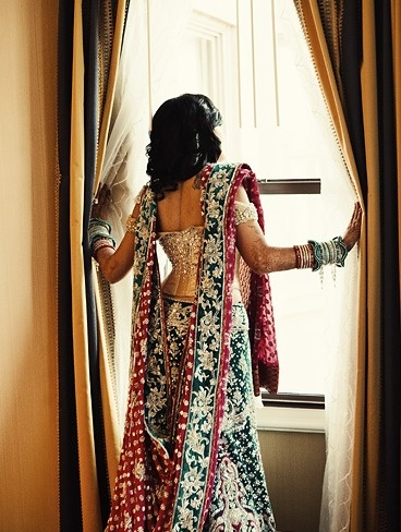 """the same lengha that was lying on the table in my """"indian dresses"""" board"""
